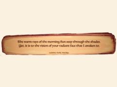 """My Morning Sun."" ©Ninnu Kori Poetry and @ninnukoripoetry, 2017. (Comment, Like, Tag, Share, Enjoy!) Tag: #ninnukoripoetry Instagram/Twitter: @ninnukoripoetry"
